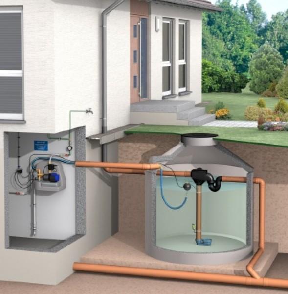 siphonfilter mit kunststoffsieb zisternenfilter filter f r regenwasser faktor technik. Black Bedroom Furniture Sets. Home Design Ideas