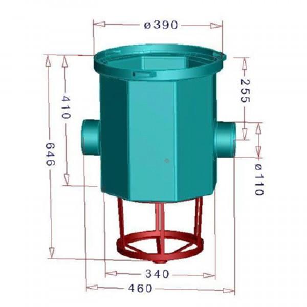 simplexfilter zisternenfilter filter f r regenwasser faktor technik. Black Bedroom Furniture Sets. Home Design Ideas