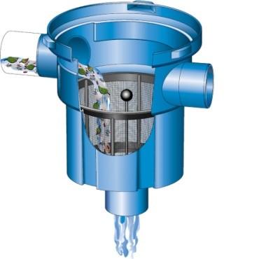 3P Retentionsfilter VA mit Teleskopverlängerung